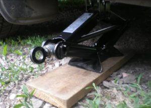 Правильная установка домкрата под автомобиль