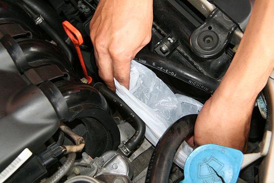 Подготовка двигателя к мойке