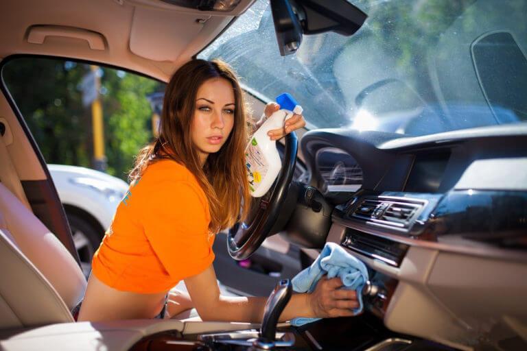 Химчистка автомобиля своими руками