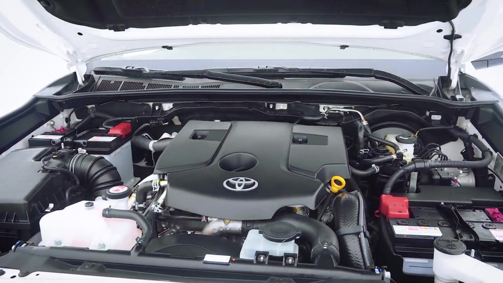 Двигатель Toyota Fortuner