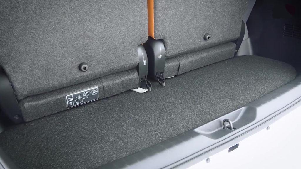 Багажник новой Toyota Fortuner