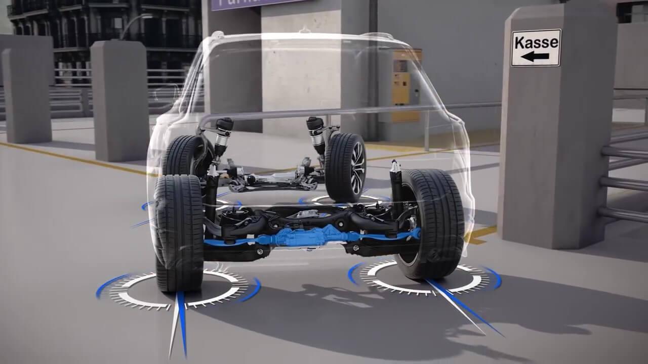 пневматическая подвеска Touareg 2018 подтянули к Audi Q7. Тестируем Volkswagen Touareg