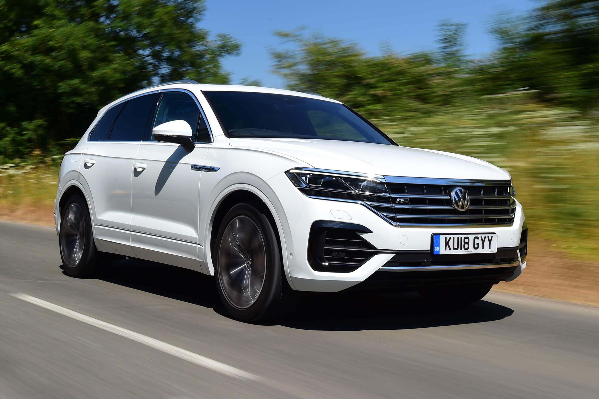 Volkswagen Touareg в новом кузове