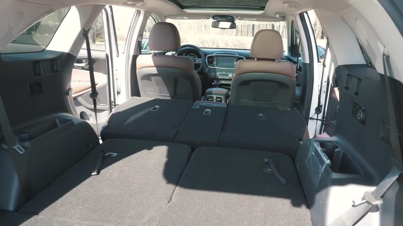 Багажник нового KIA Sorento Prime