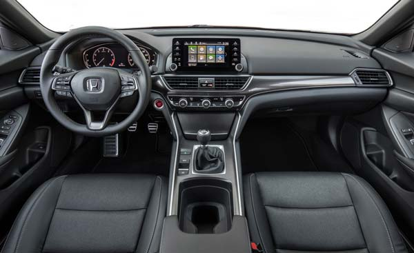 Салон Нового Honda Accord 2019