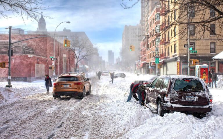 Вождение зимой. Движение по скользкой дороге
