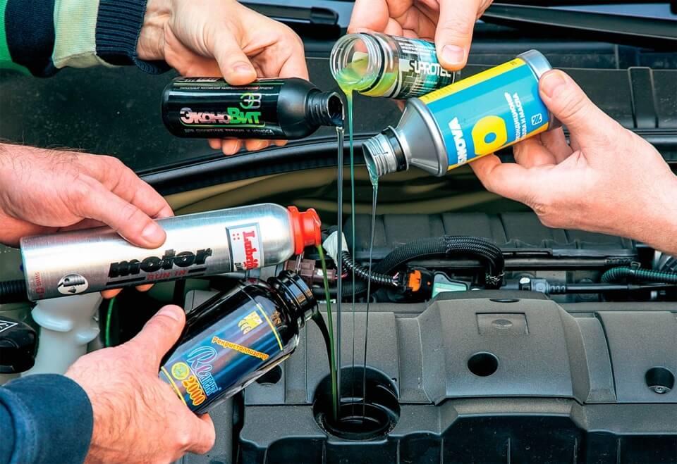 Присадки в двигатель и промывка. Чем же они полезны?