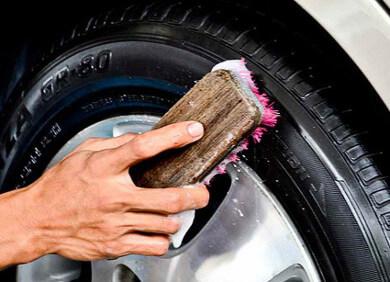 Уход за шинами. Чернитель шин. Как делают шины?