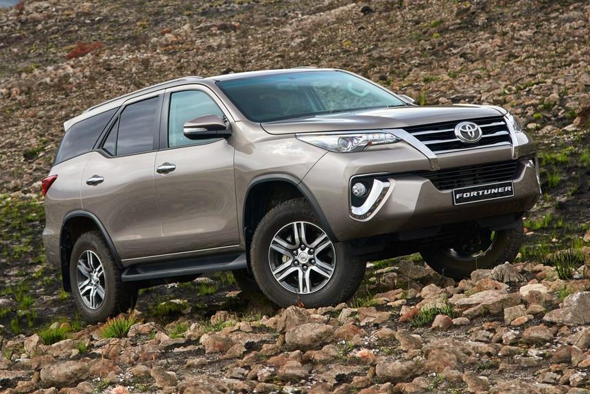 Toyota Fortuner 2018. Технические характеристики