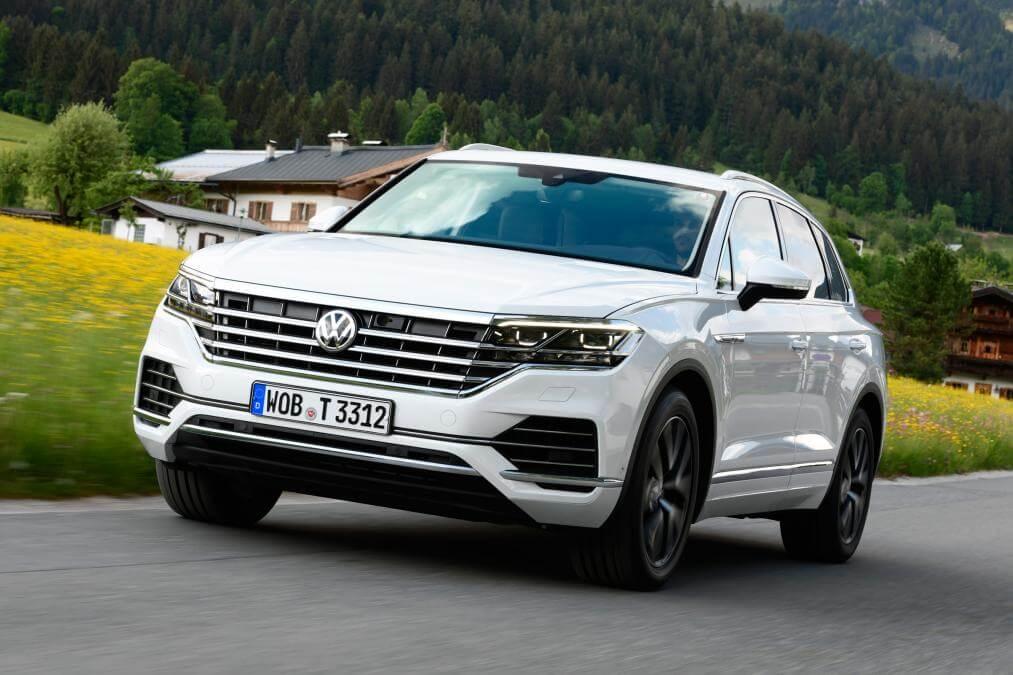 Volkswagen Touareg 2018. Новый кузов